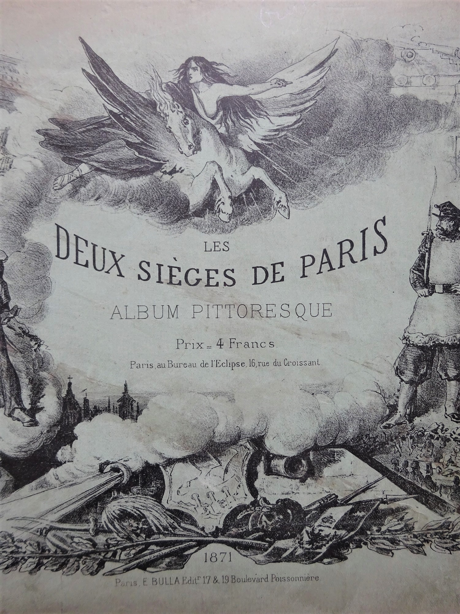 Les deux sièges de Paris. Album pittoresque