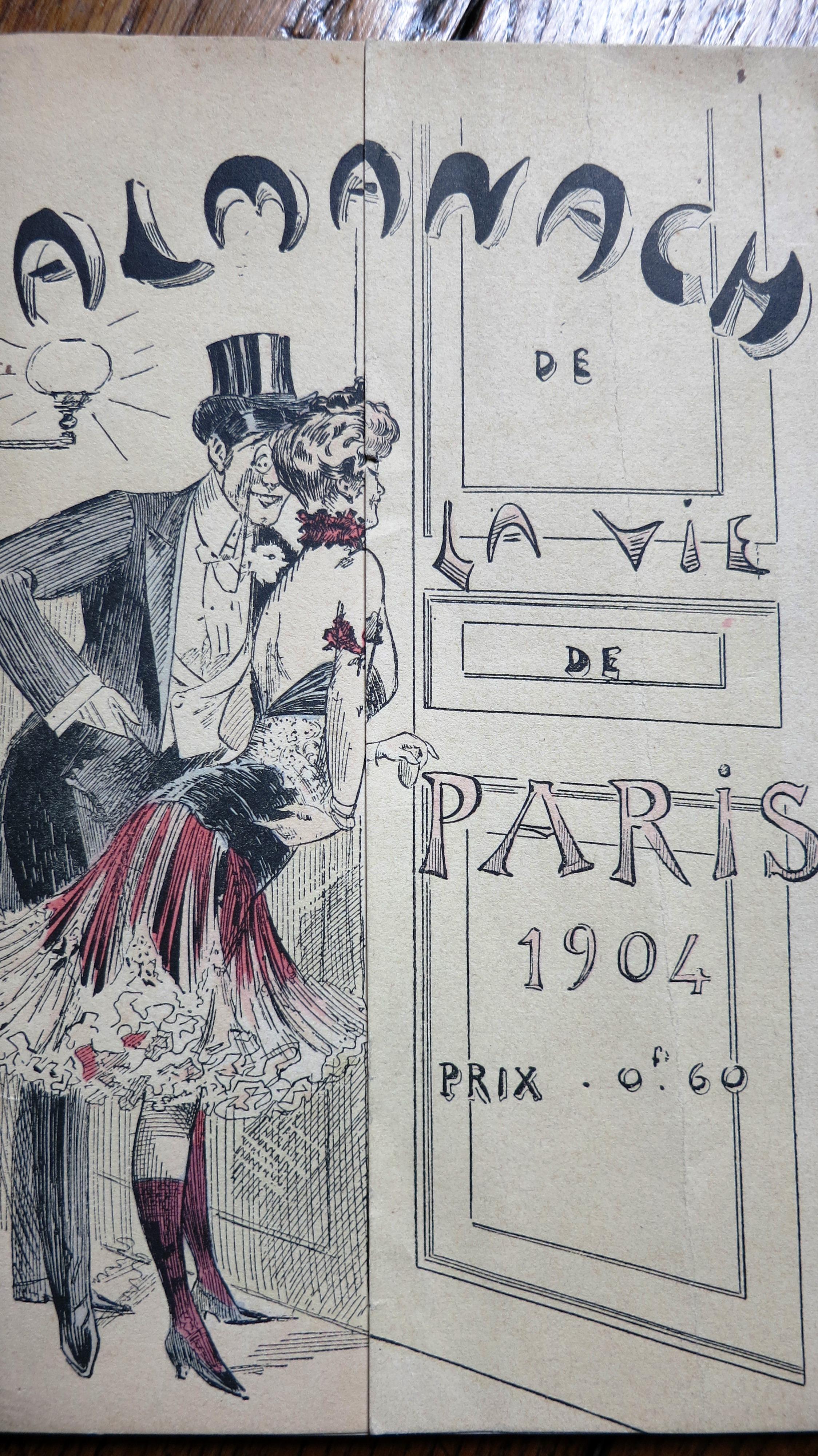 Almanach de la vie de Paris 1904