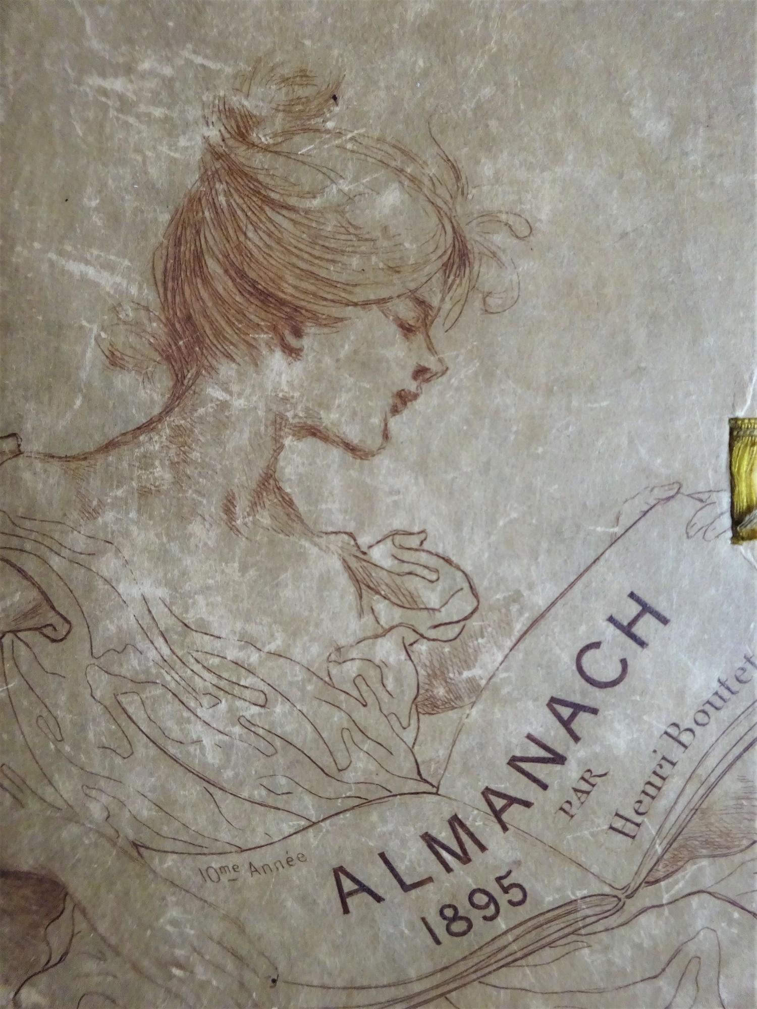 Almanach 1895 sur Japon