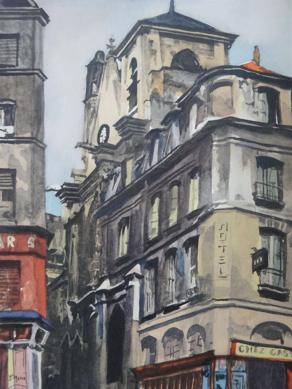 Vieilles églises de Paris. Rive droite. Rive gauche.