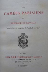 Les camées parisiens