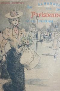 Almanach pour 1900. La Parisienne et les fleurs