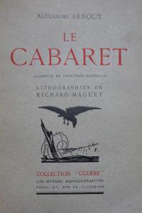Le Cabaret. Lithographies de Richard Maguet.