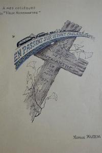 En passant sur le pont Caulaincourt