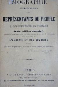 Biographie impartiale des représentants du peuple à l'Assemblée Nationale