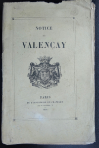 Notice sur Valençay