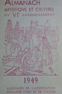 Almanach artistique et culturel du VIe arrondissement