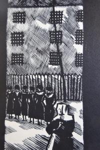 Saint Lazare illustré par Antral