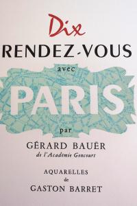 Dix rendez-vous avec Paris