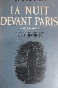 La nuit devant Paris 13 juin 1940