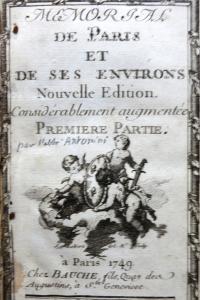 Mémorial de Paris et de ses environs