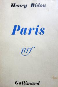 Paris (Henry BIDOU)