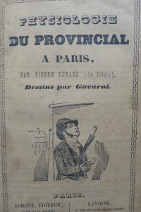Physiologie du provincial à Paris